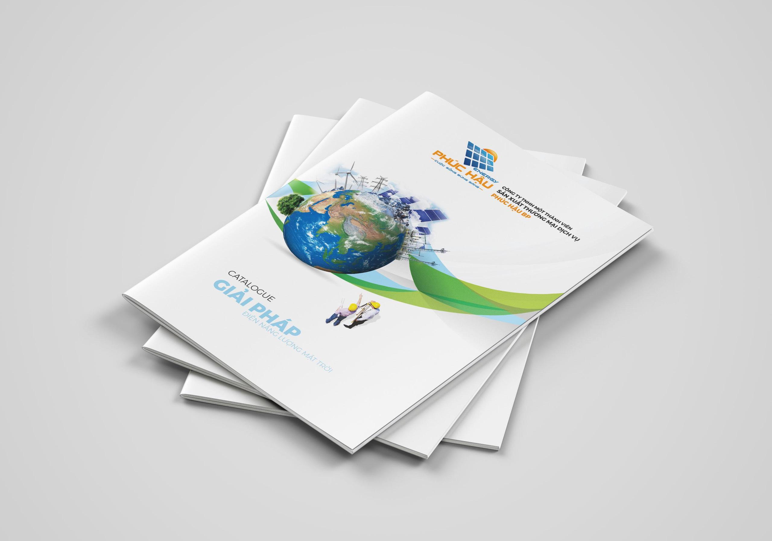 thiết kế catalogue điện mặt trời 1