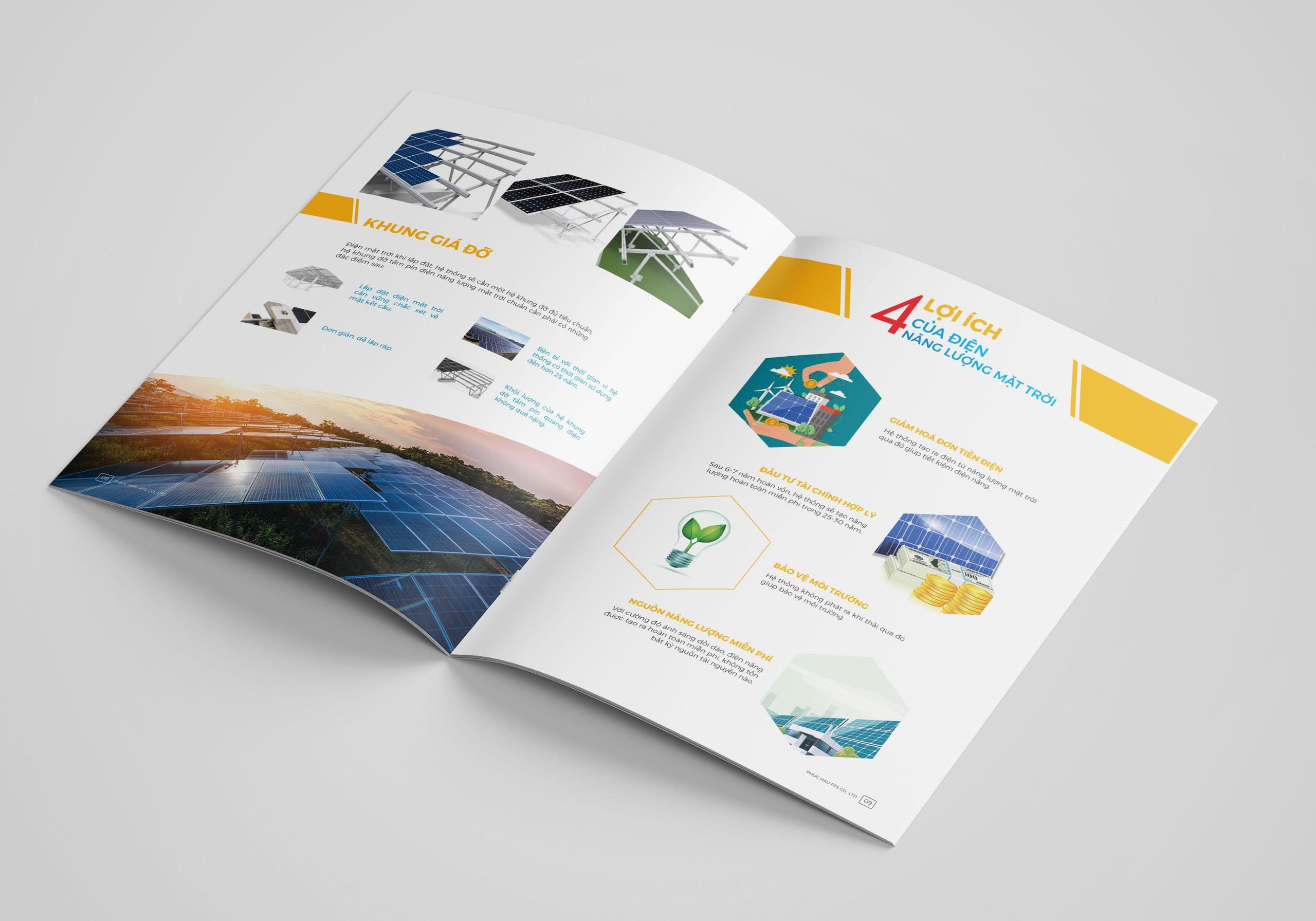 thiết kế catalogue điện mặt trời 2