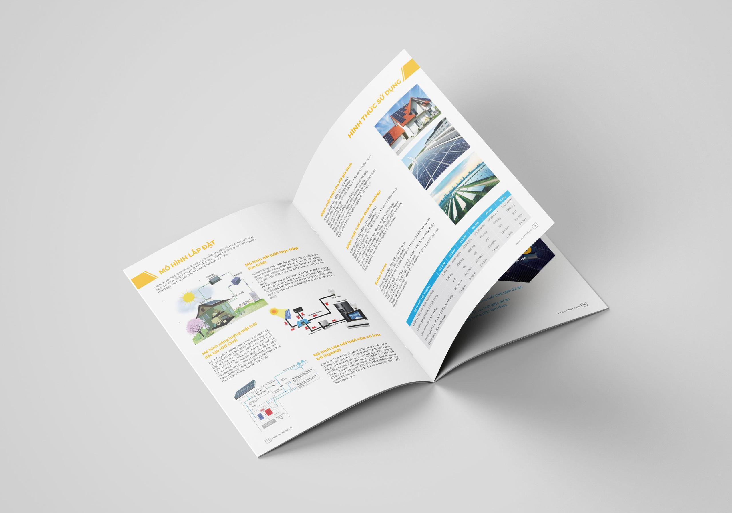 thiết kế catalogue điện mặt trời 3