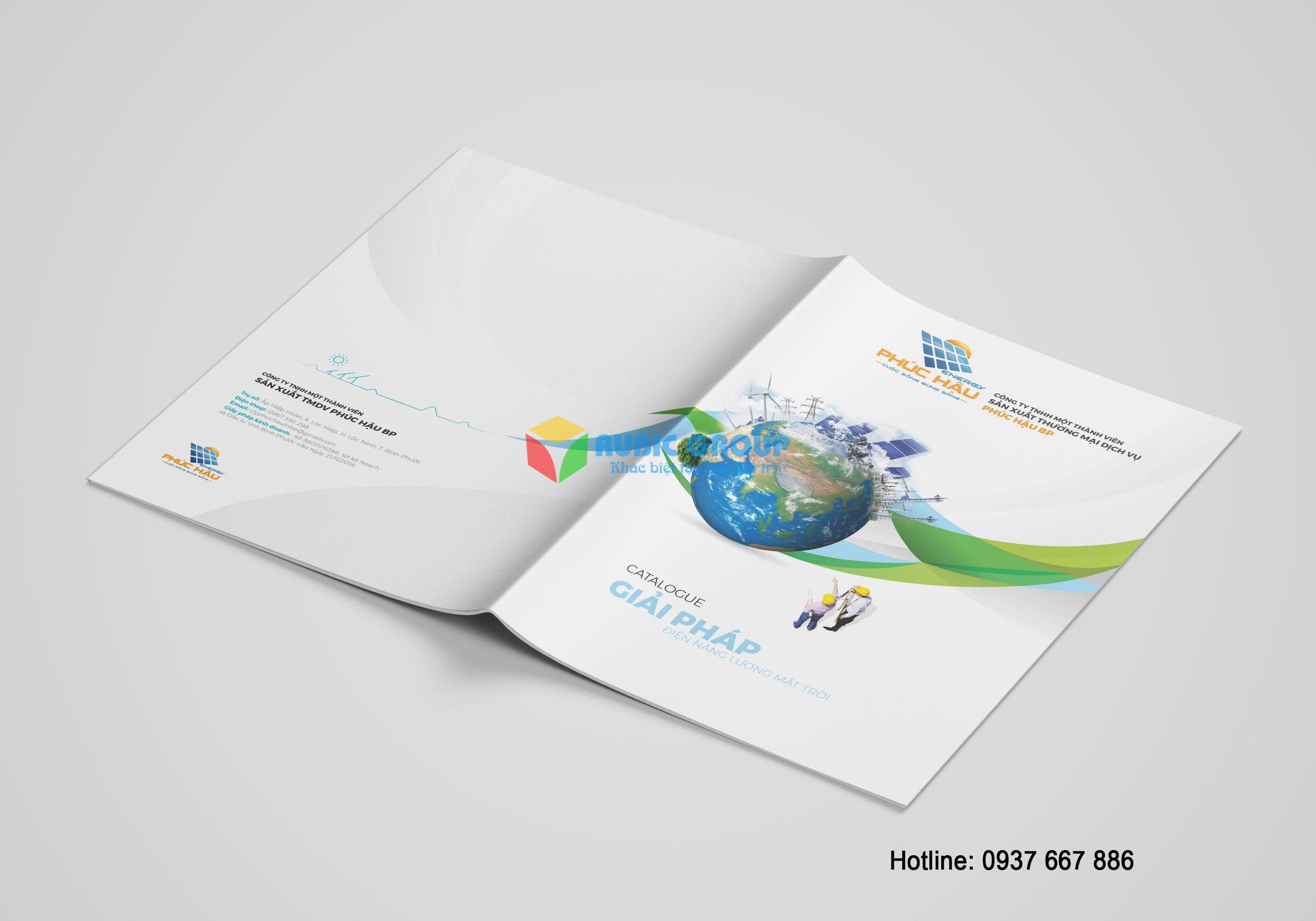 thiết kế catalogue điện mặt trời phúc hậu 1