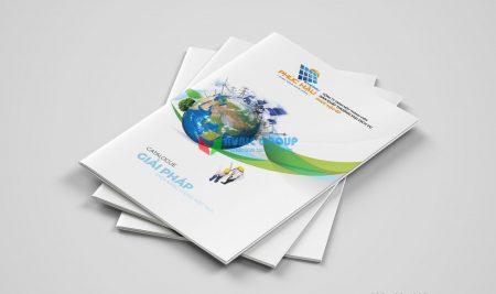 Thiết kế Catalogue Điện Mặt Trời