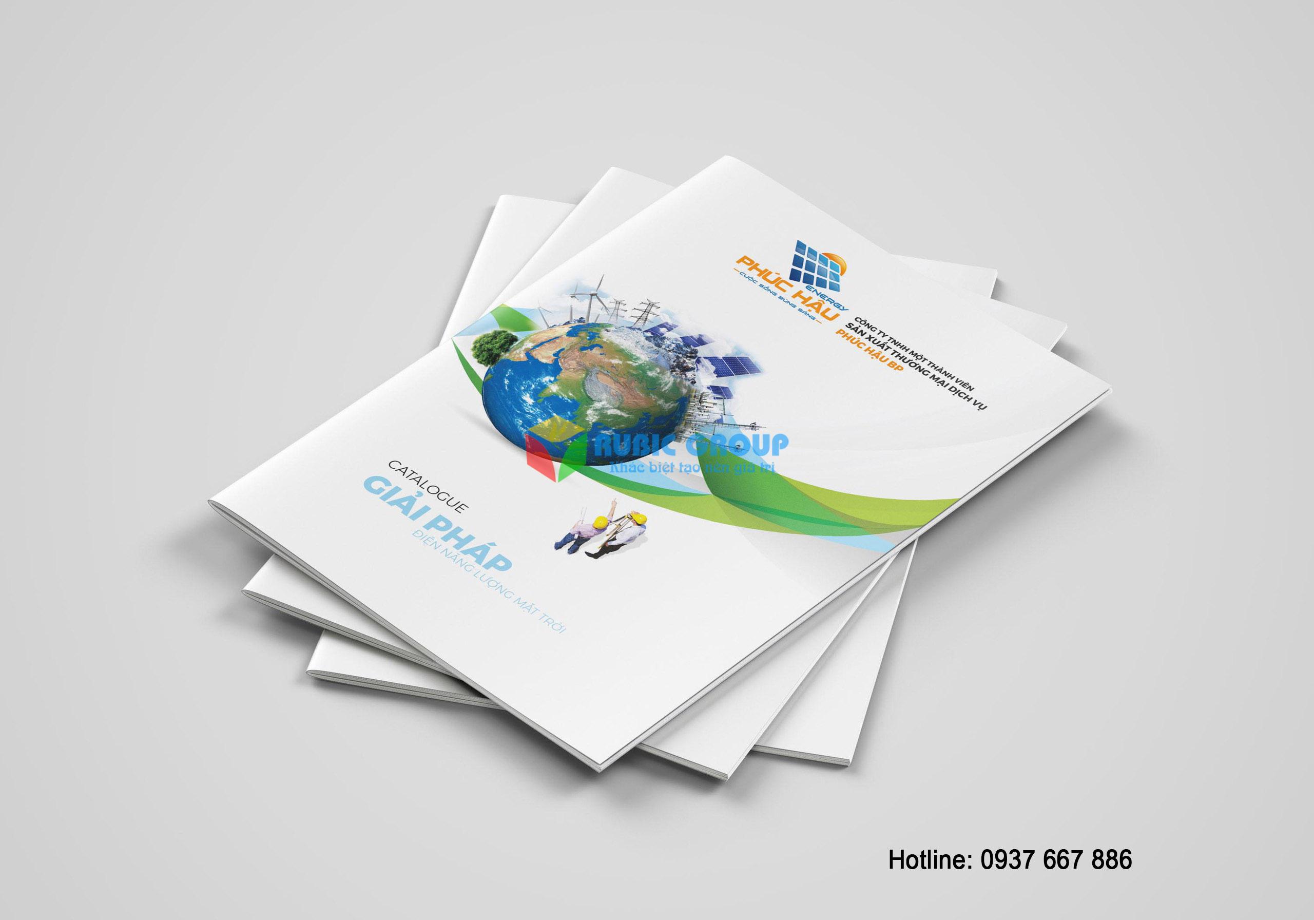 thiết kế catalogue điện mặt trời phúc hậu 2