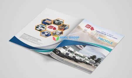 Thiết kế Profile vận tải Hoàn Thành