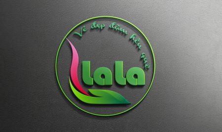 Thiết kế logo thương hiệu Spa Lala