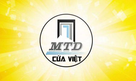 Thiết kế logo cửa việt MTD