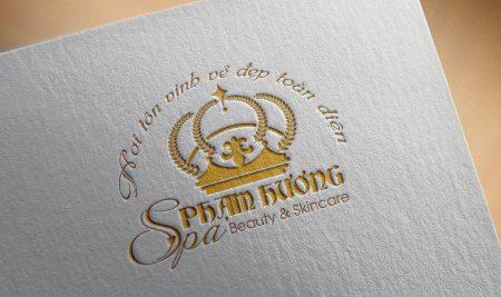 Thiết kế logo Phạm Hương Spa