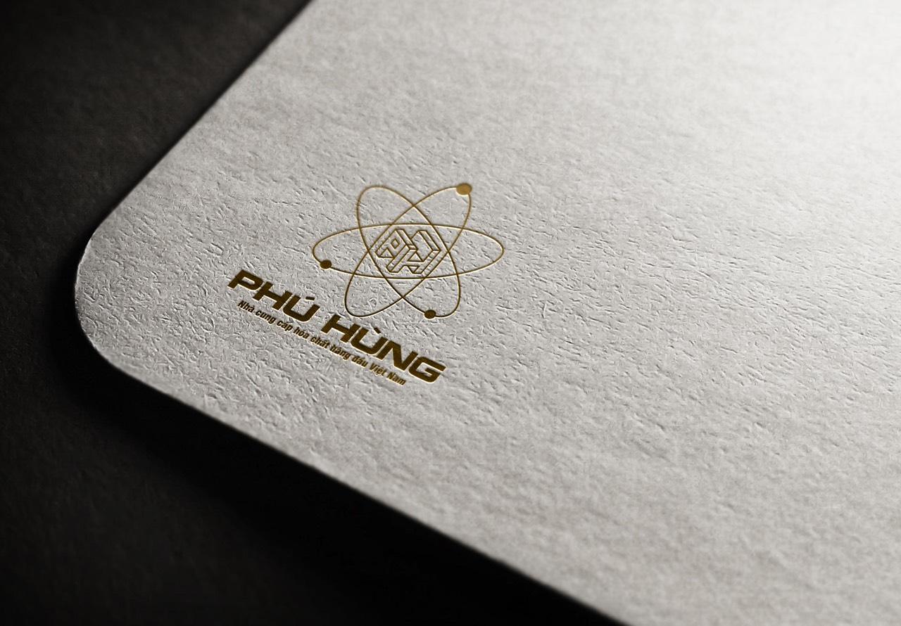 thiết kế logo hoát chất phú hùng 4