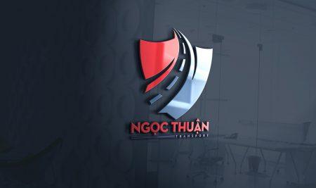 Thiết kế logo xăng dầu Ngọc Thuận