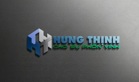 Thiết kế logo xây dựng Hưng Thịnh