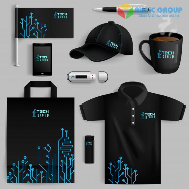 thiết kế bộ nhận diện thương hiệu chuyên nghiệp 1