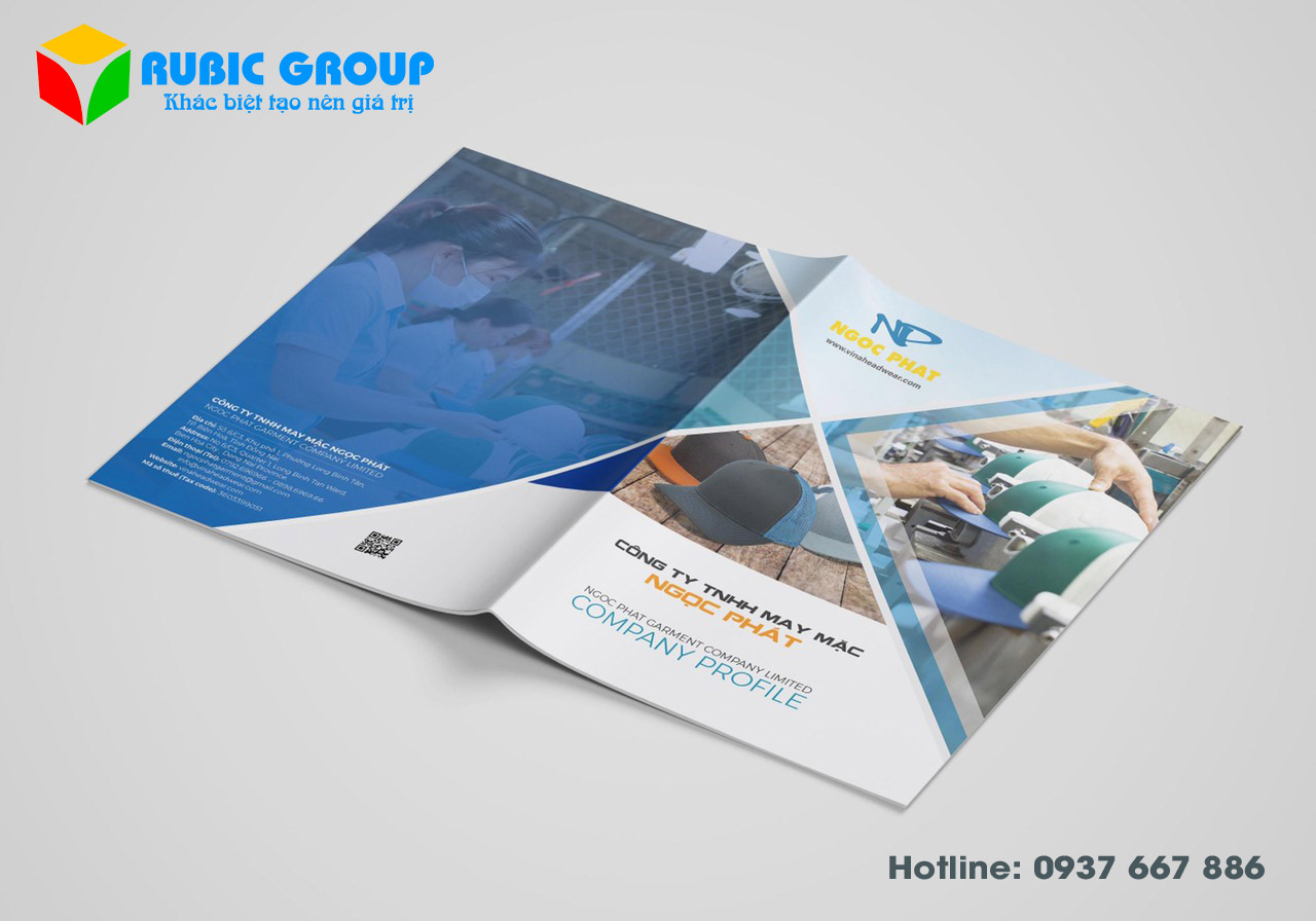 thiết kế brochure 6