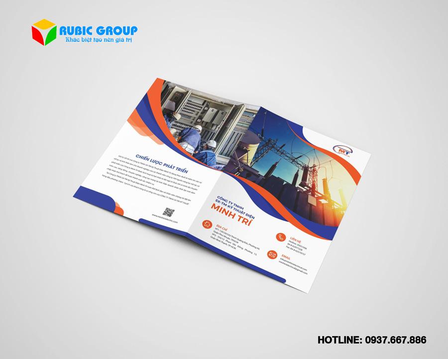 thiết kế brochure chuyên nghiệp giá rẻ 1