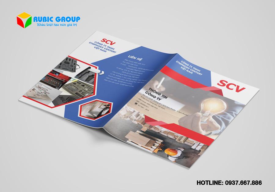 thiết kế brochure chuyên nghiệp giá rẻ 2