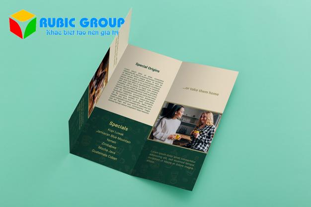 thiết kế brochure giá rẻ 1