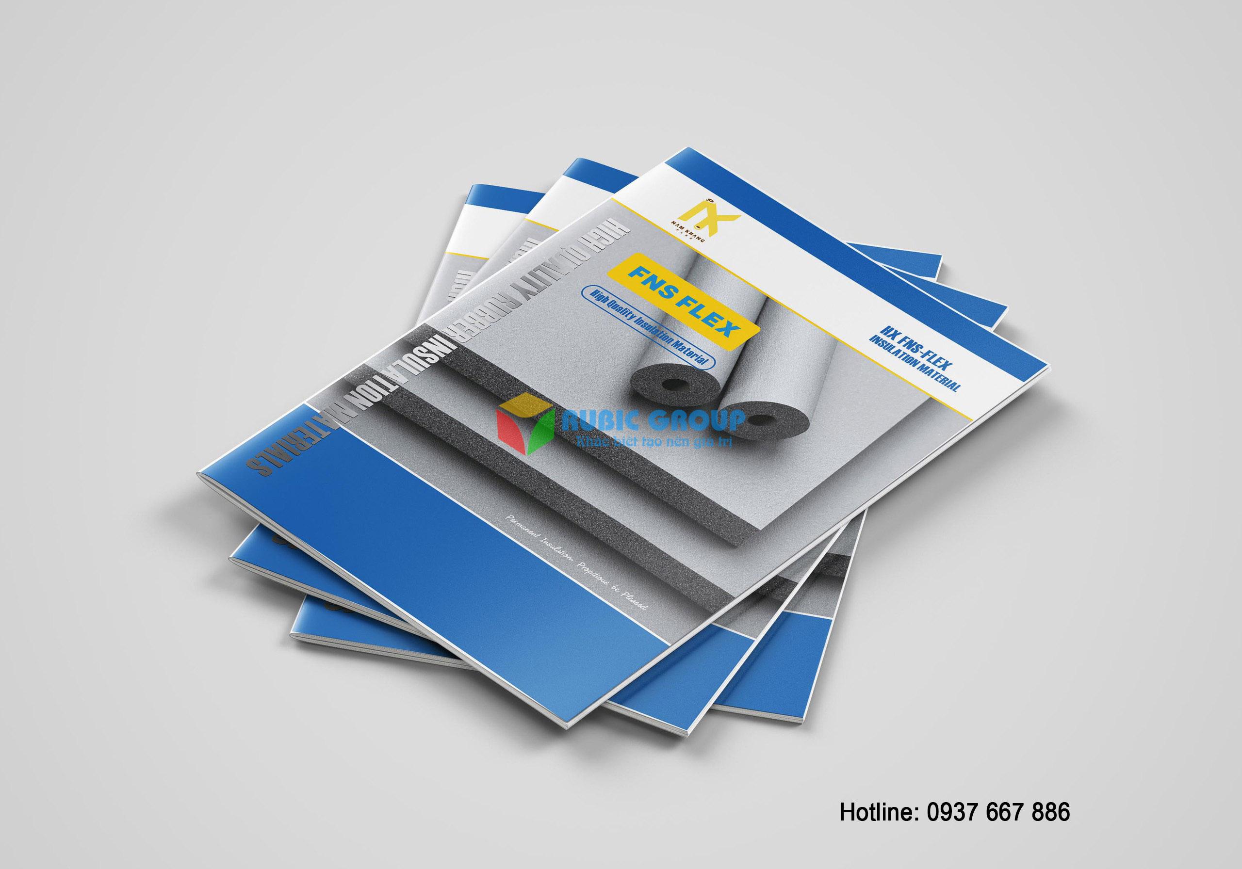 thiết kế catalogue cao su bảo ôn tại biên hoà 2