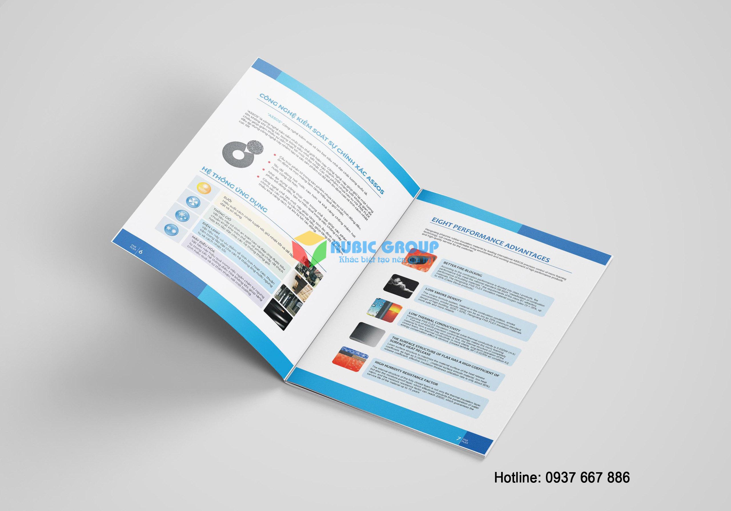 thiết kế catalogue cao su bảo ôn tại biên hoà 4