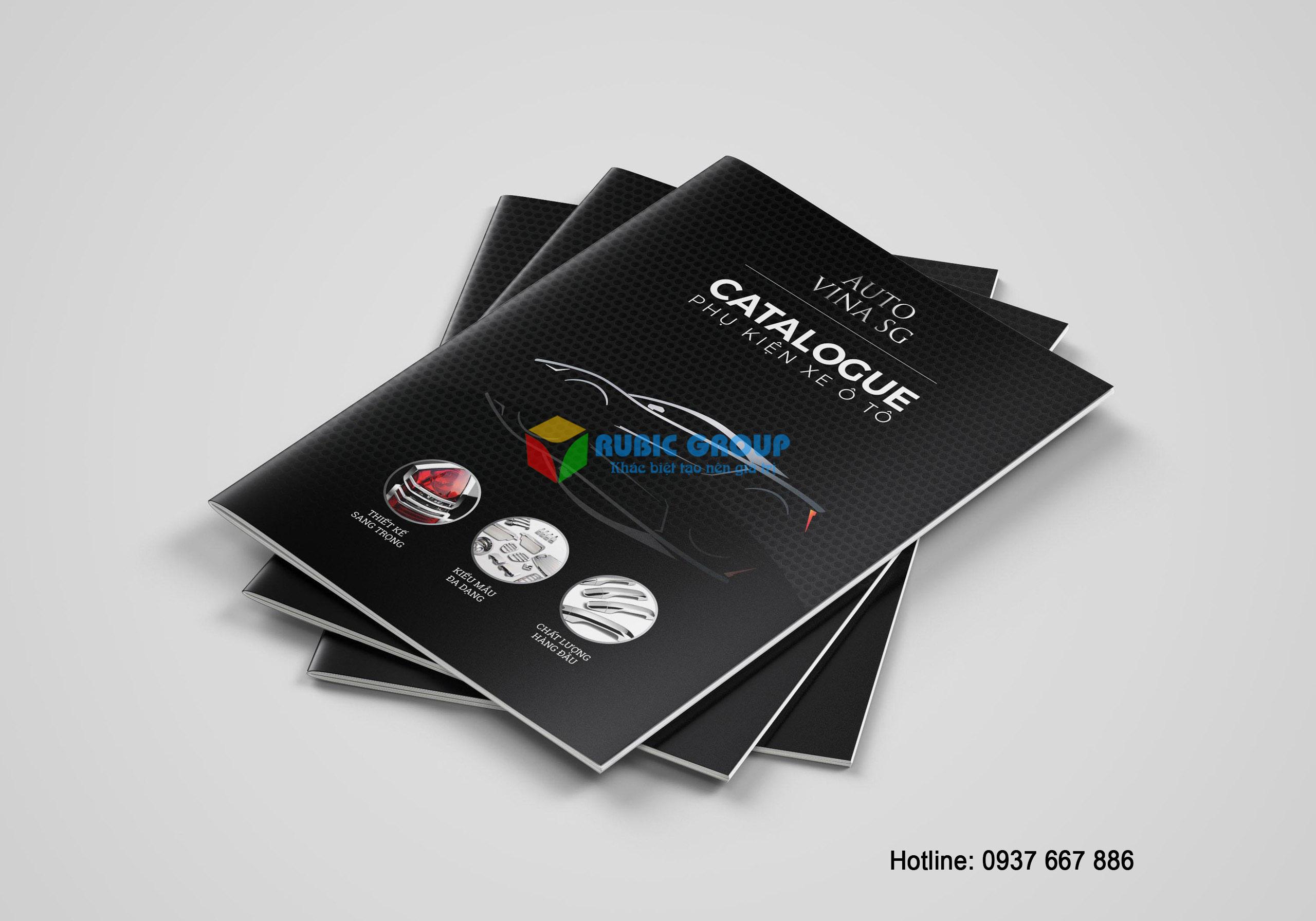 thiết kế catalogue phụ kiện ô tô tại tphcm 2