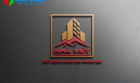 Logo bất động sản Nhà Việt