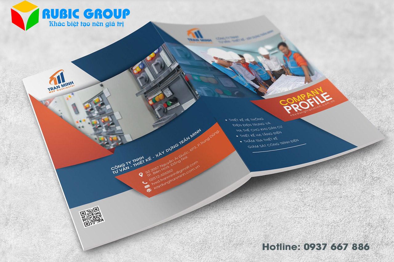 Thiết kế Profile công ty chuyên nghiệp, giá rẻ - RUBIC Group