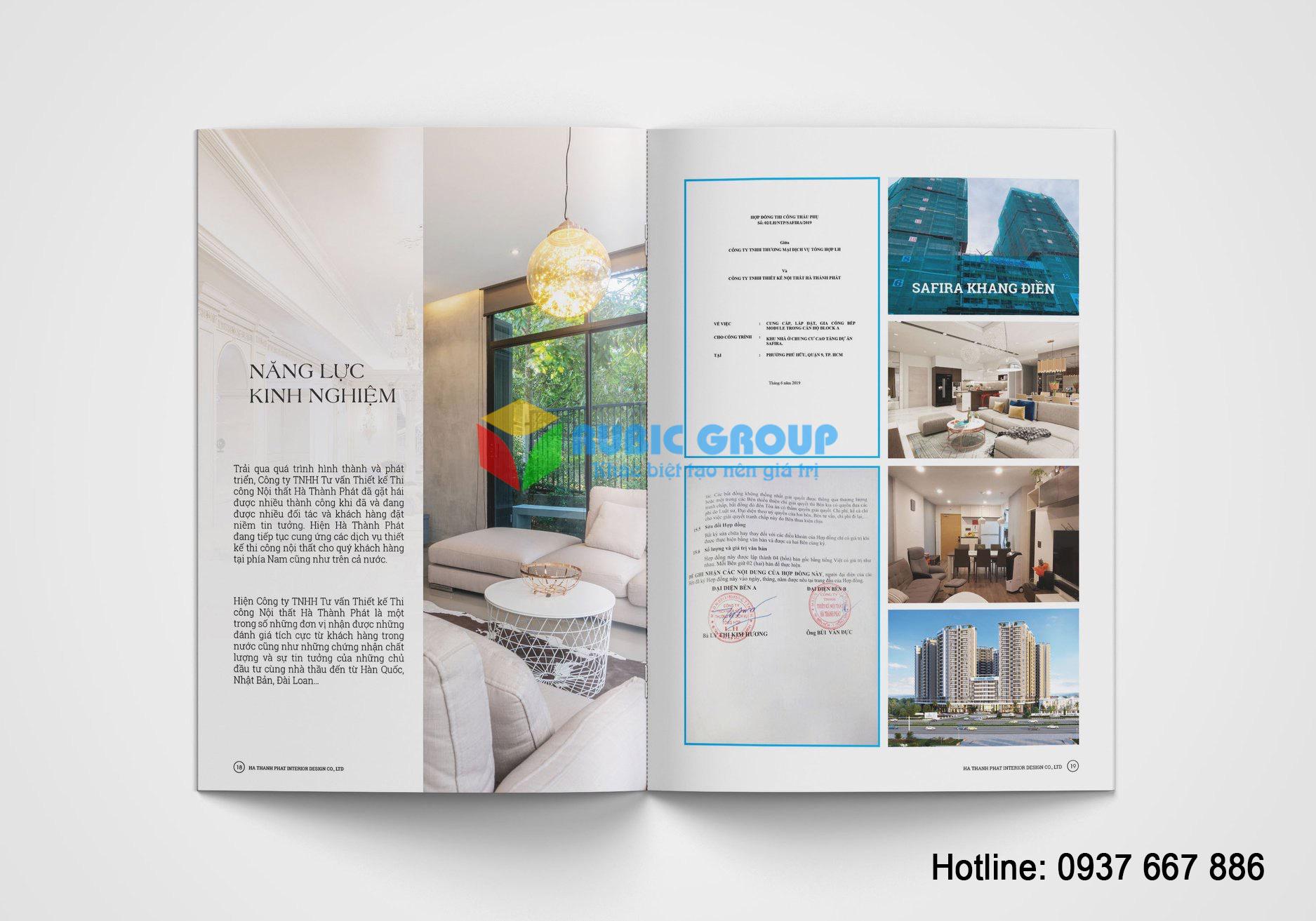 thiết kế pròile nội thất 3