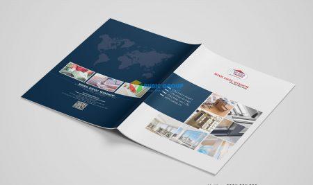 Thiết kế catalogue cửa Minh Phúc Window