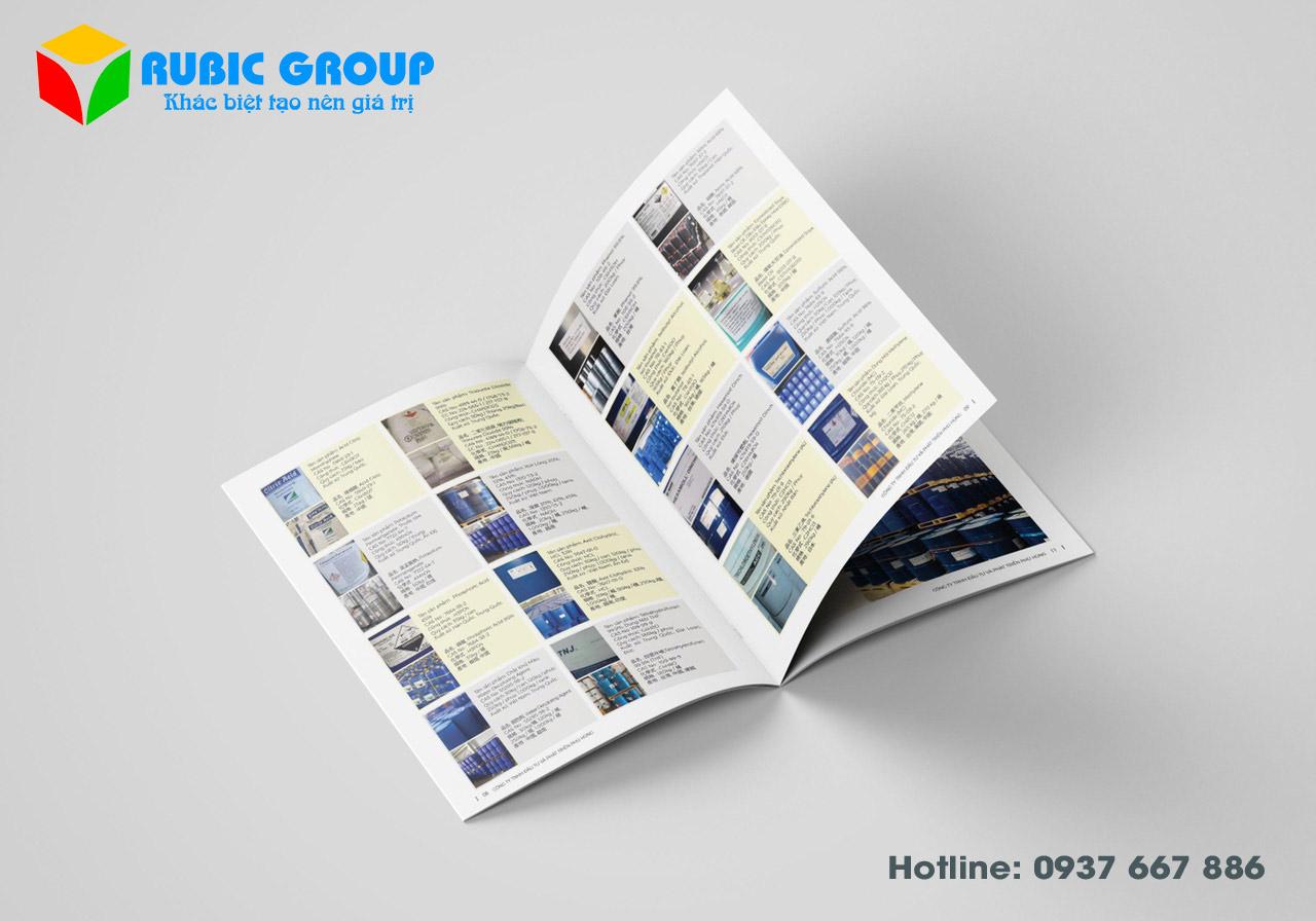 design catalogue hoá chất