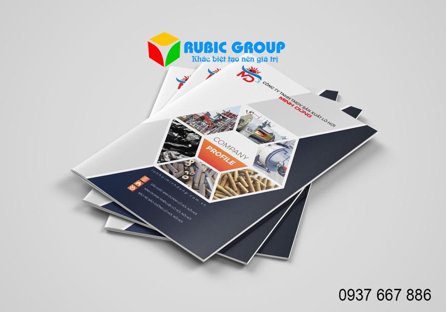 Thiết kế hồ sơ năng lực tại Bình Dương - Công Ty RuBic Group