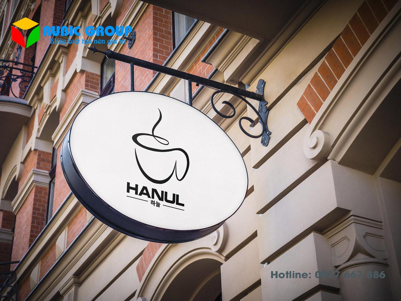 thiết kế bộ nhận dạng thương hiệu cafe