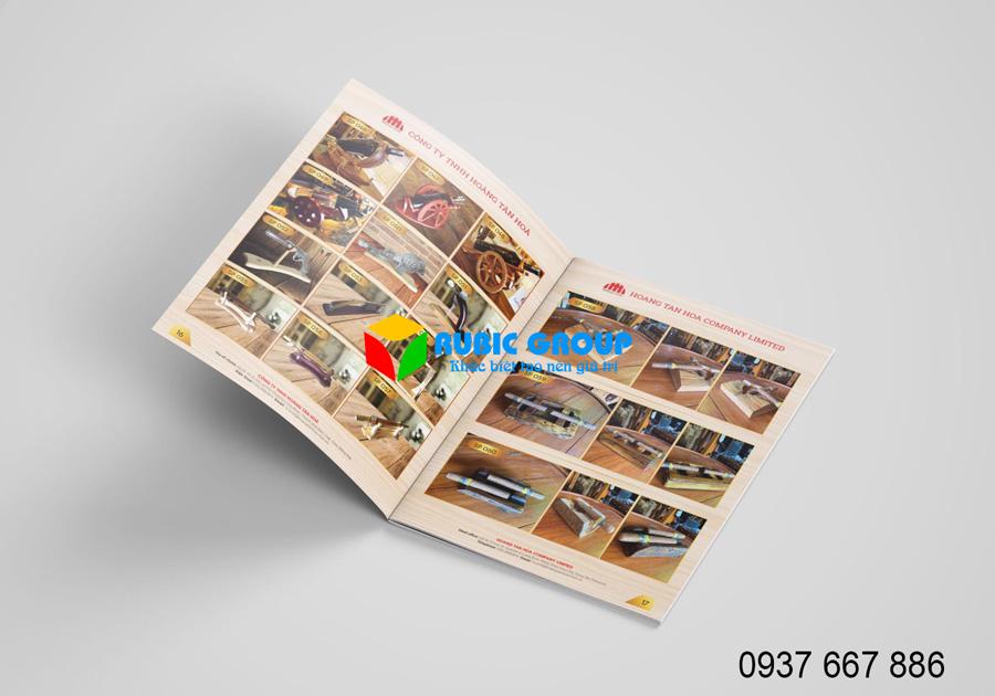 thiết kế catalog bình dương