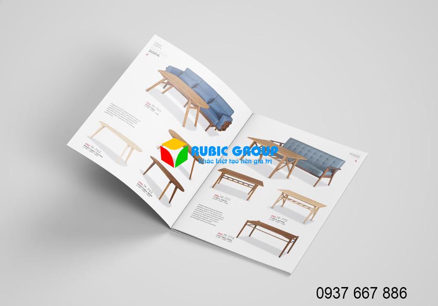 thiết kế catalog giá rẻ nhất bình dương