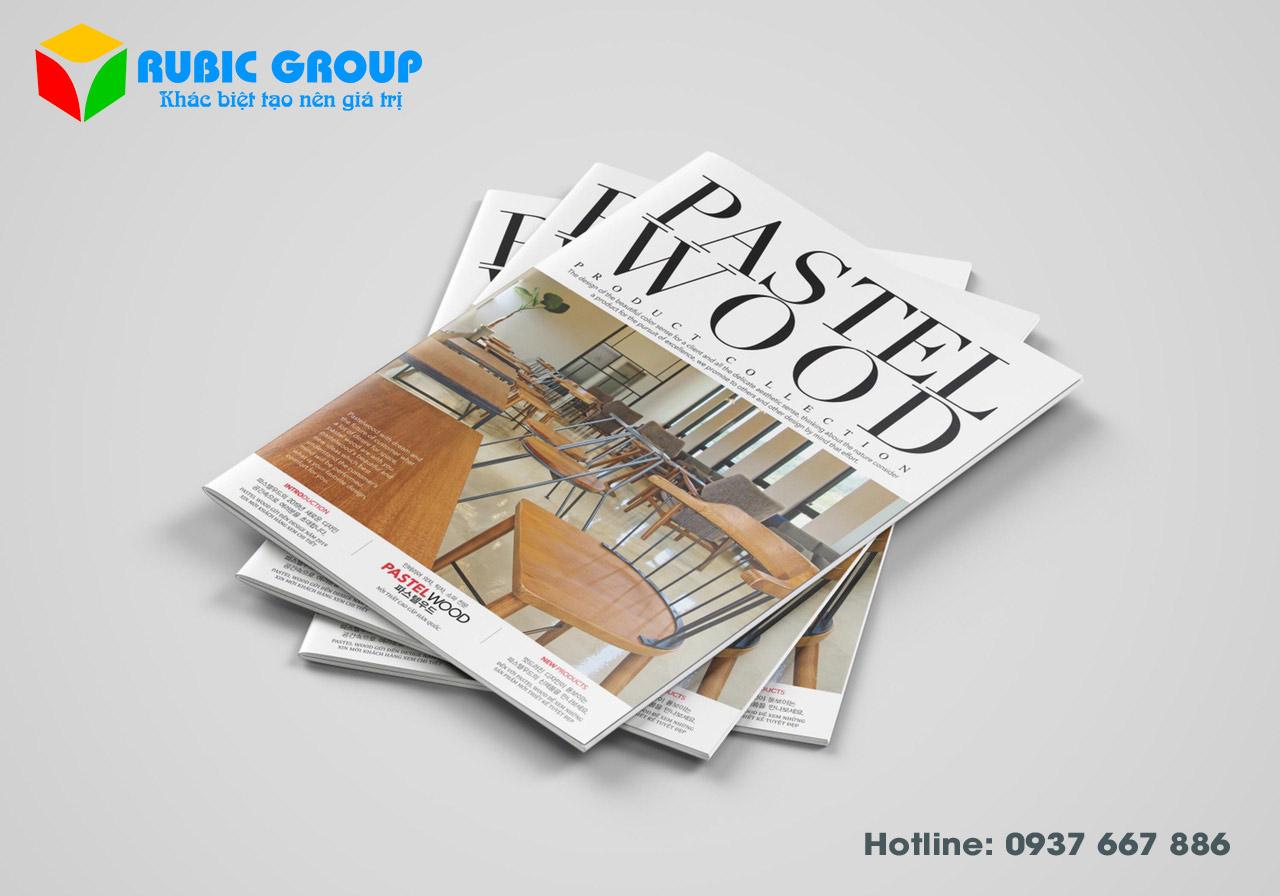 Thiết kế Catalogue giá rẻ, đẹp, GIẢM 30% - RuBic Group