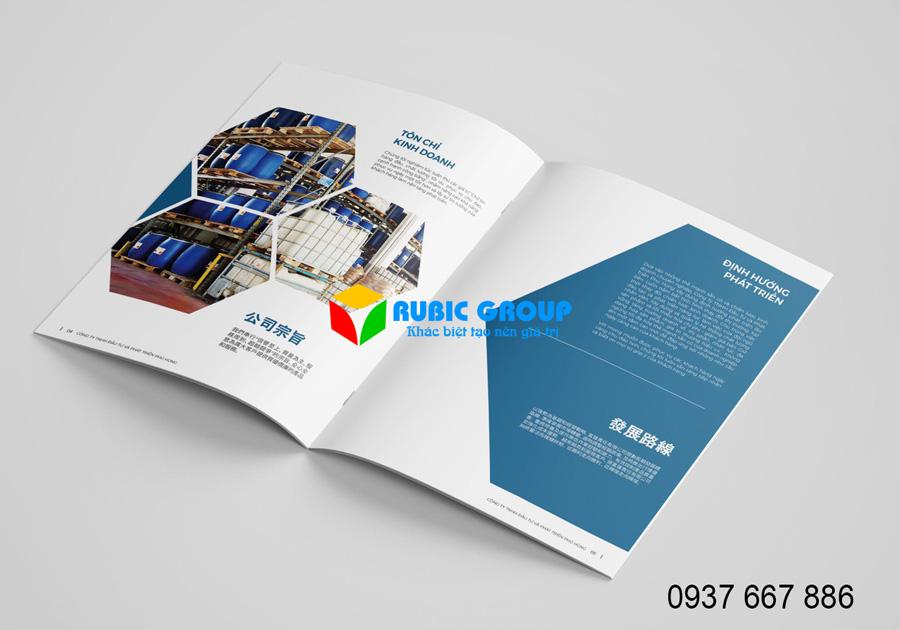 thiết kế catalogue bình dương