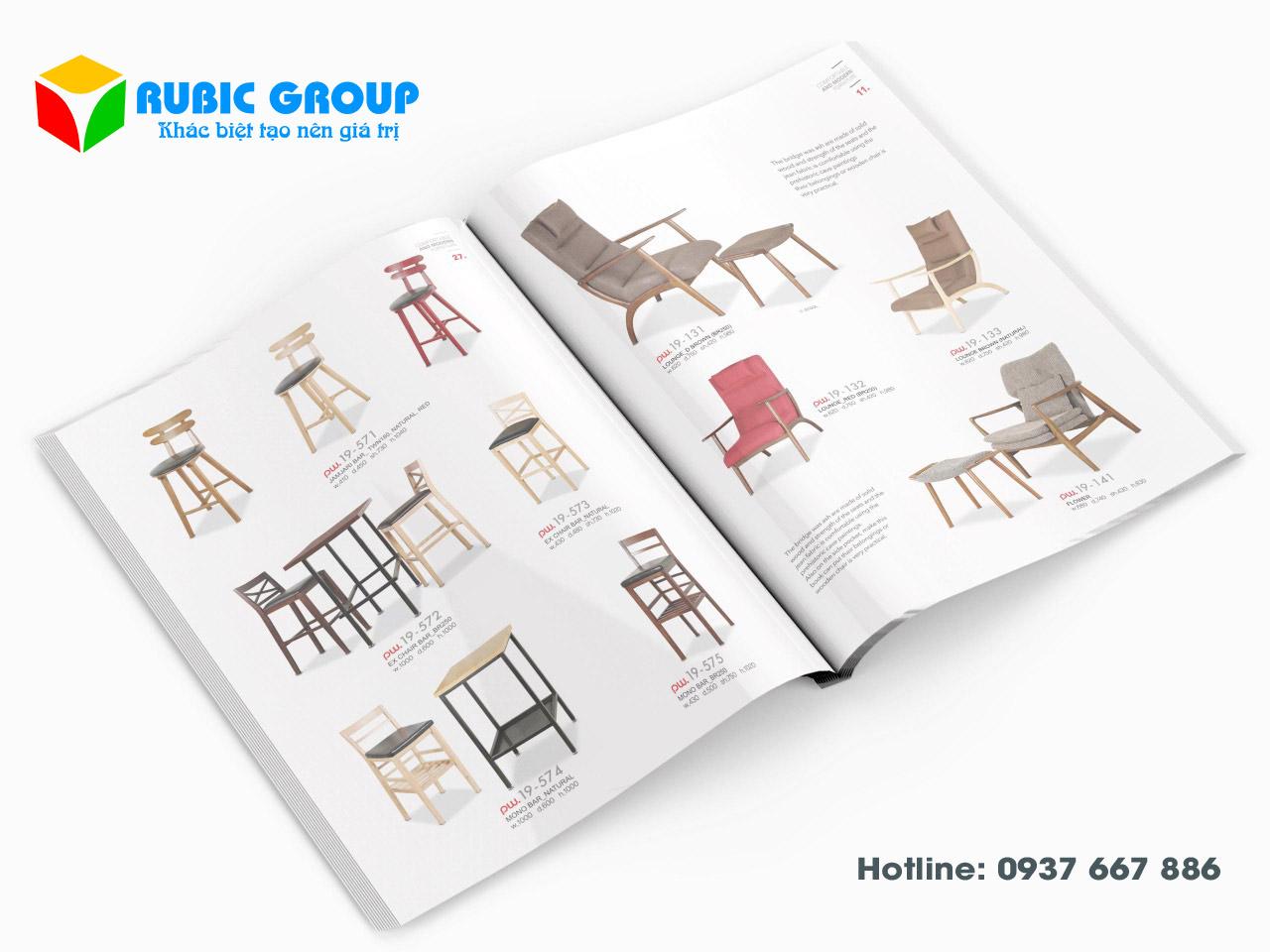 thiết kế catalogue nội thất giá rẻ