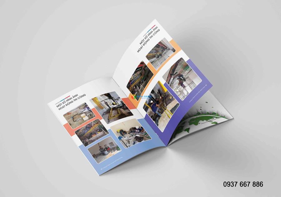 thiết kế hồ sơ năng lực xây dựng tiến mạnh phát 2
