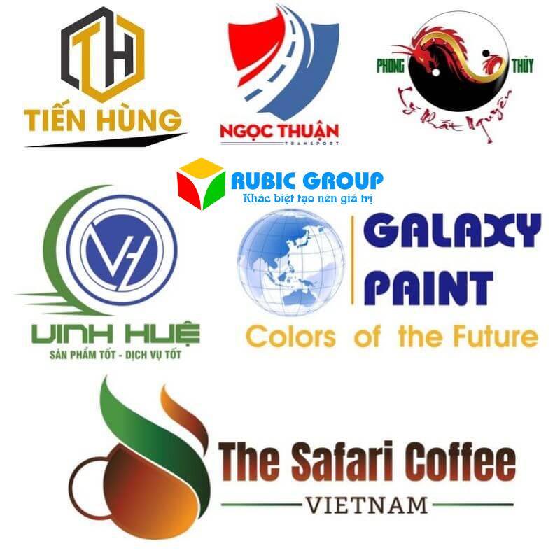 thiết kế logo rubic group