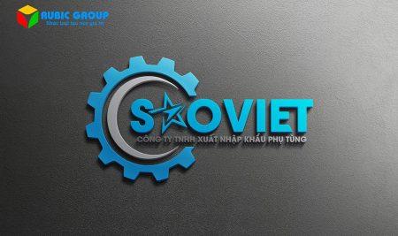 Thiết kế logo công ty Sao Việt