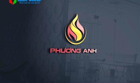 Thiết kế logo xăng dầu Phương Anh