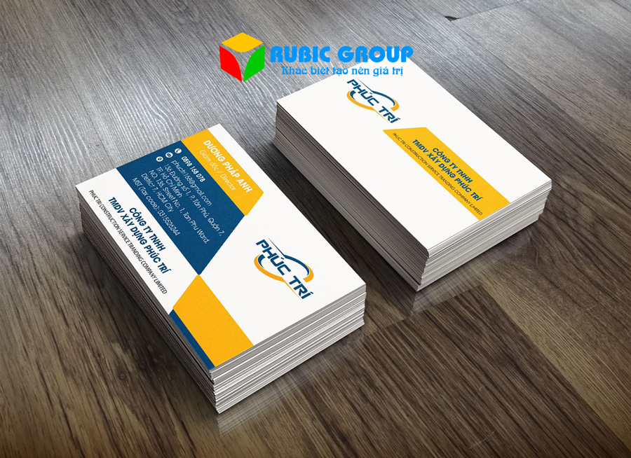 thiết kế name card tại tphcm