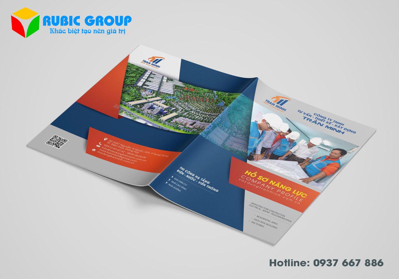 thiết kế nhãn hiệu catalogue
