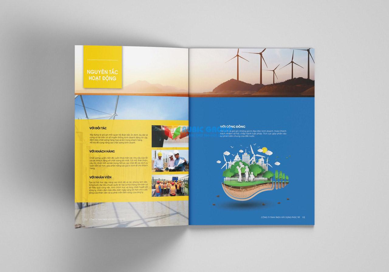 thiết kế portfolio 10