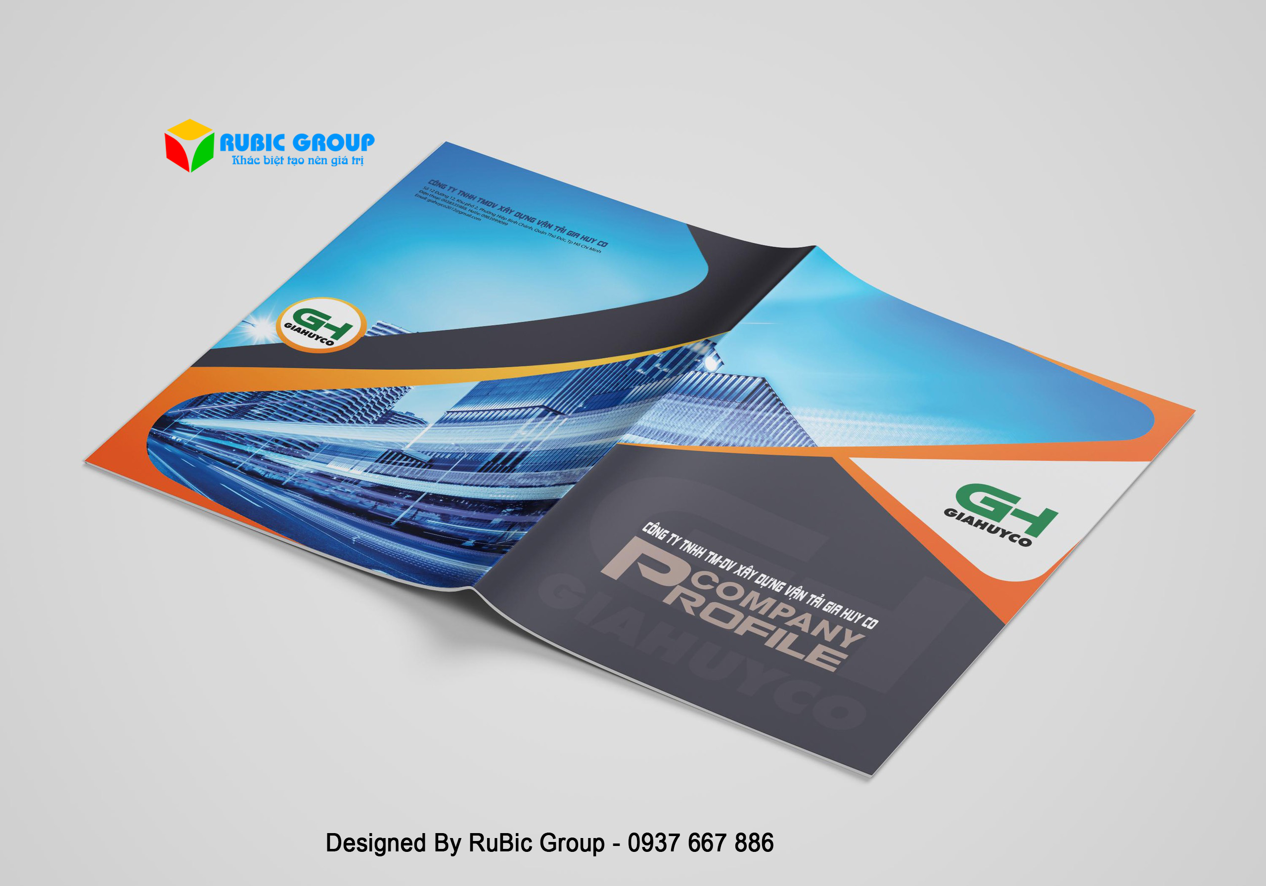 thiết kế profile cho doanh nghiệp