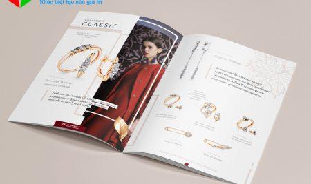 Thiết kế catalogue trang sức cần quan tâm đến các yếu tố nào?