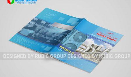 Thiết kế hồ sơ năng lực công ty thương mại
