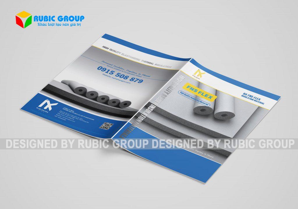 thiết kế catalogue công ty xây dựng 2