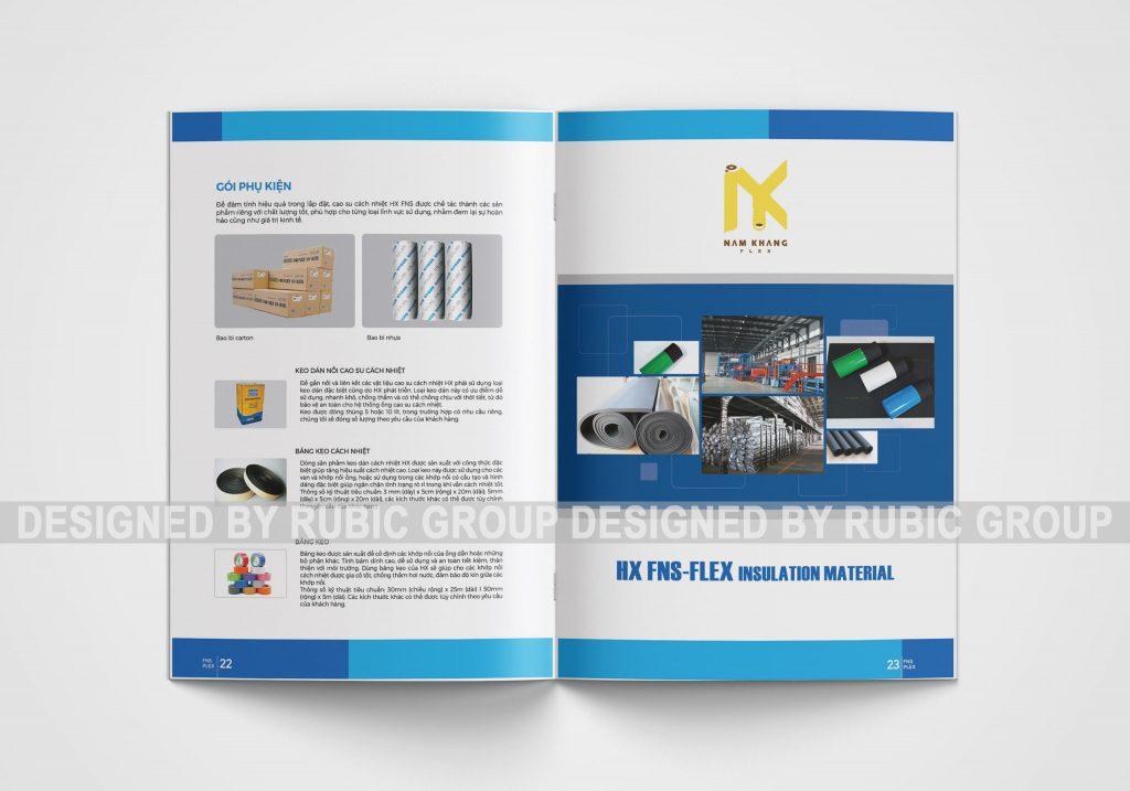 thiết kế catalogue công ty xây dựng 3