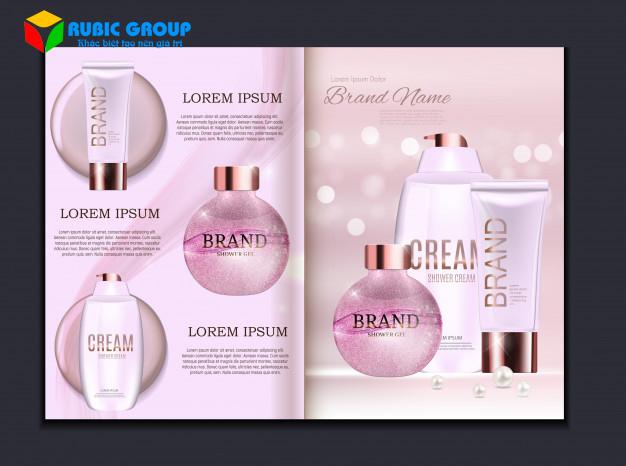 thiết kế catalogue mỹ phẩm 3