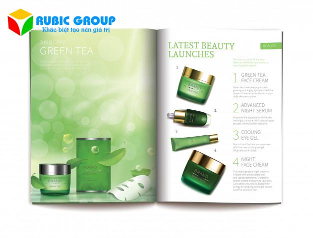 thiết kế catalogue mỹ phẩm 6