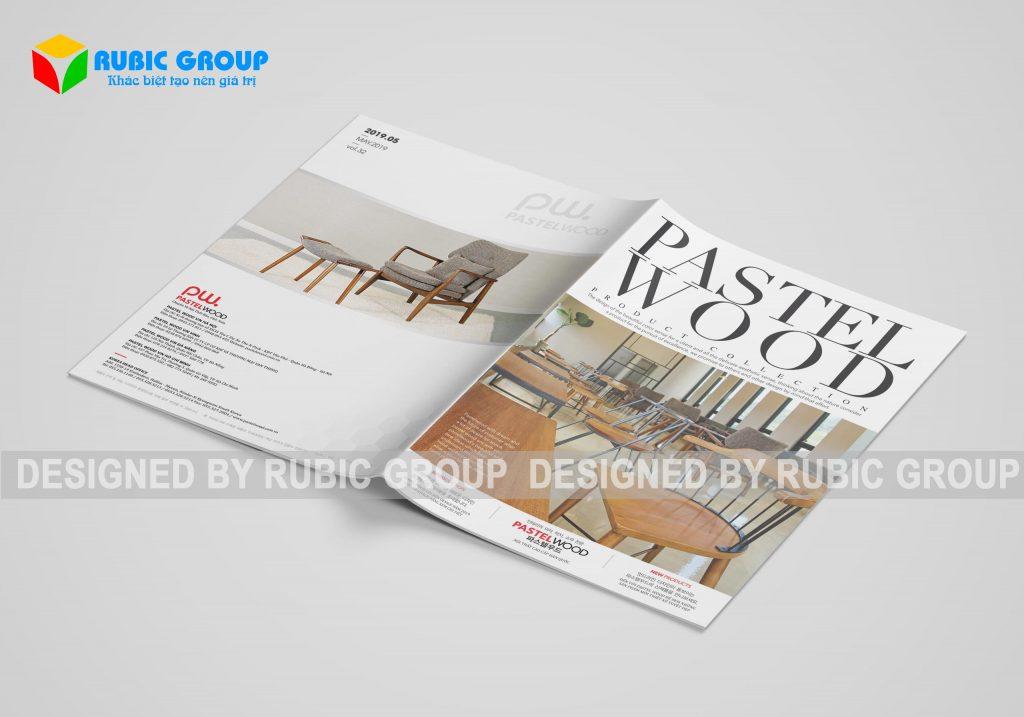 thiết kế catalogue nội thất 1