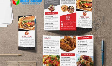 Quy trình và giá cả thiết kế catalogue thực phẩm
