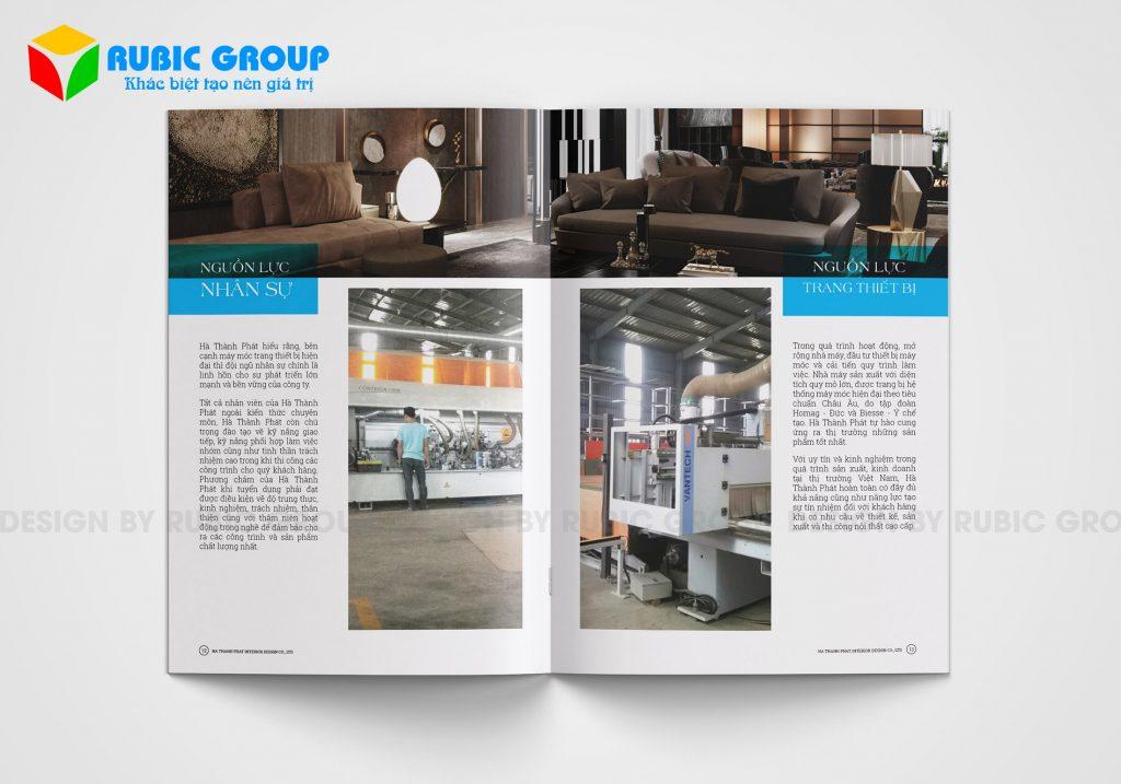 thiết kế hồ sơ năng lực công ty nội thất 5